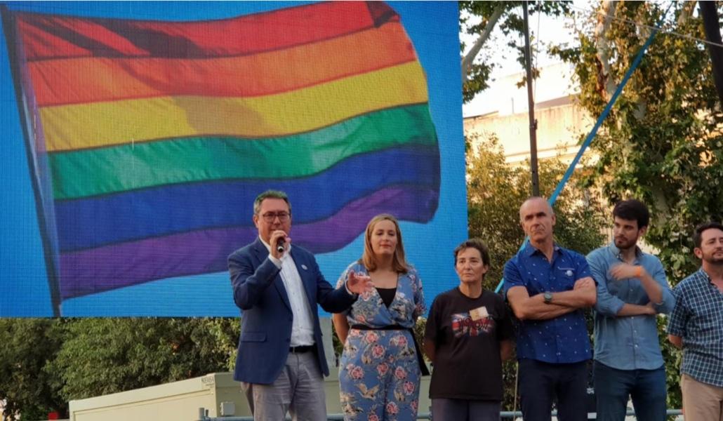 Unas 18.000 personas participaron en el Orgullo LGTBI de Sevilla