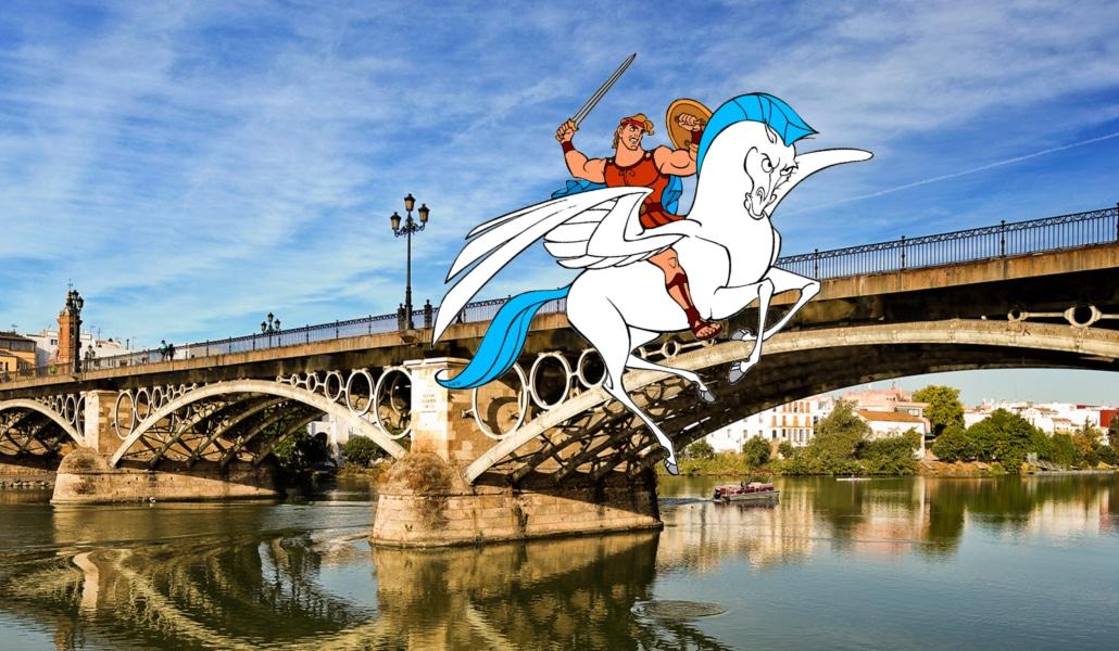 La razón mitológica por la que Sevilla y Triana eran dos ciudades