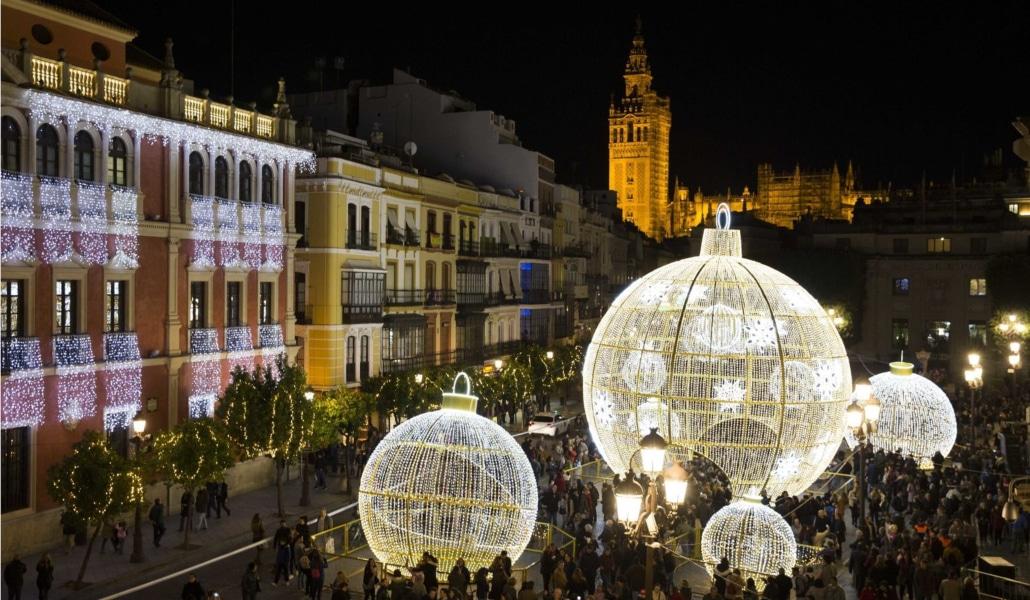 Este año la iluminación navideña de Sevilla se adelanta a noviembre