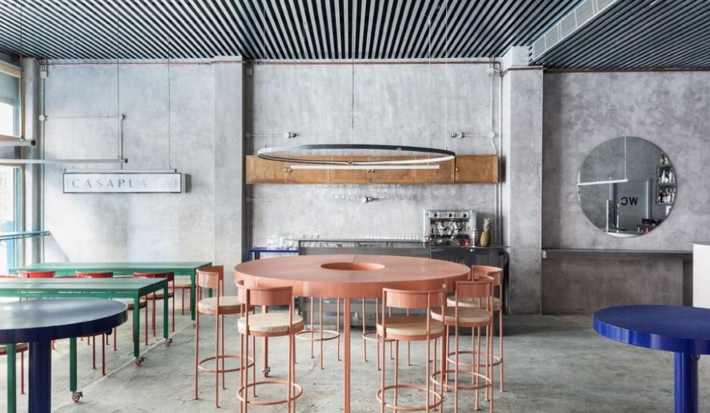 Casaplata, el restaurante futurista de Sevilla donde se respeta la tradición