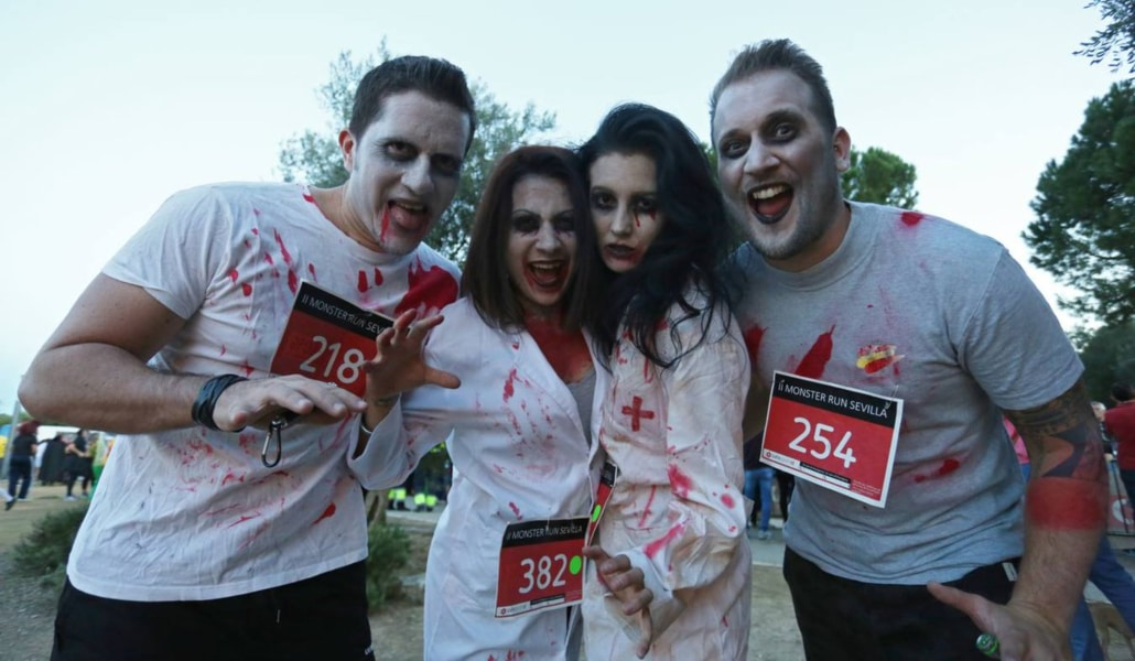 Vuelve la Monster Run Sevilla, la carrera más terrorífica del año