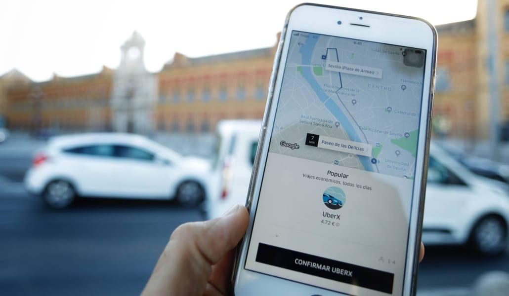 Uber y Cabify te permiten viajar gratis este miércoles en Sevilla