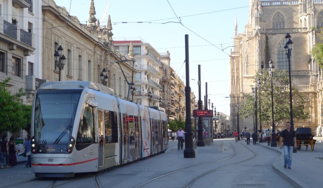 Sevilla, la segunda ciudad española donde ha subido más el uso del metro
