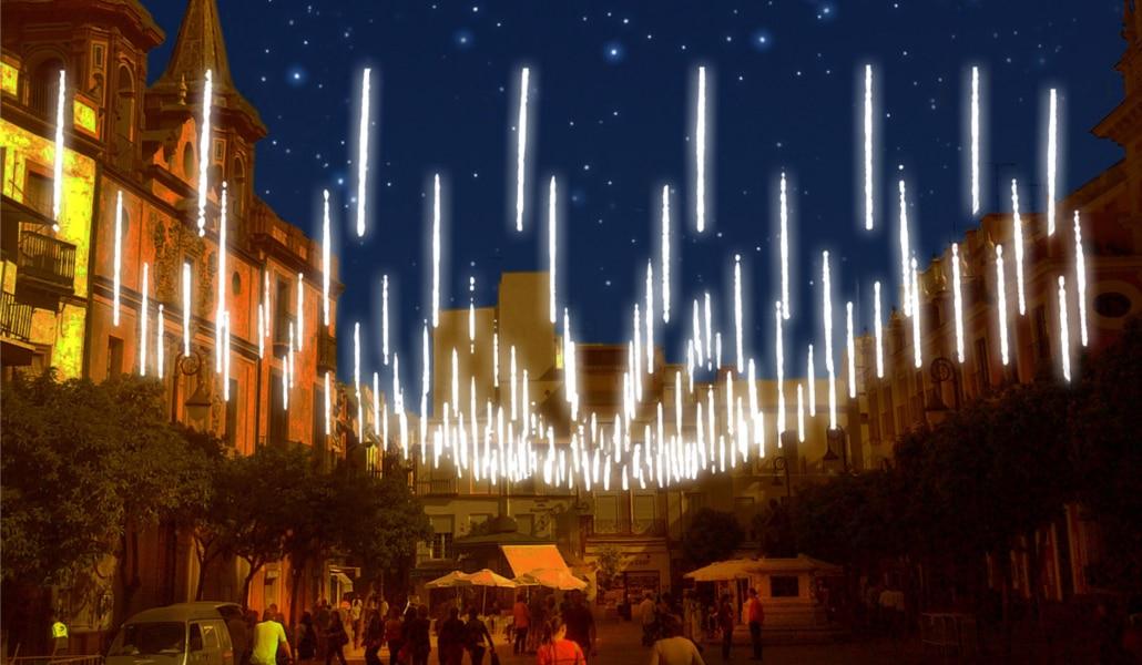 Sevilla contará con un 38% más de iluminación navideña