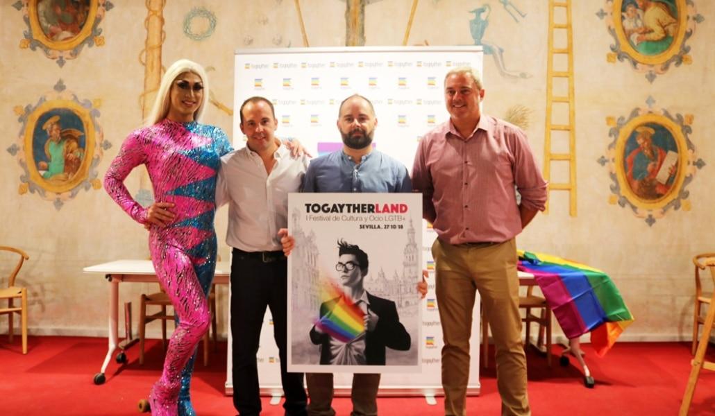 Sevilla acogerá el I Festival de Cultura y Ocio LGTB+ Togaytherland