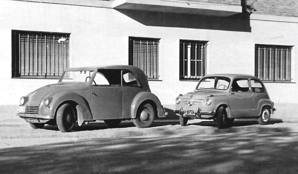 El primer coche eléctrico español lo creó un sevillano en 1946