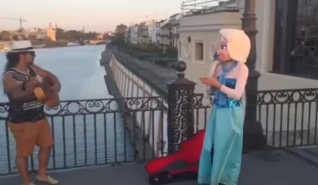 Frozen flamenco, el vídeo que triunfa en redes sociales