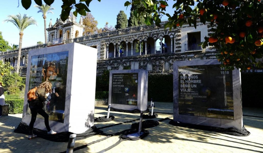El Alcázar conmemorará el V centenario de la primera vuelta al mundo