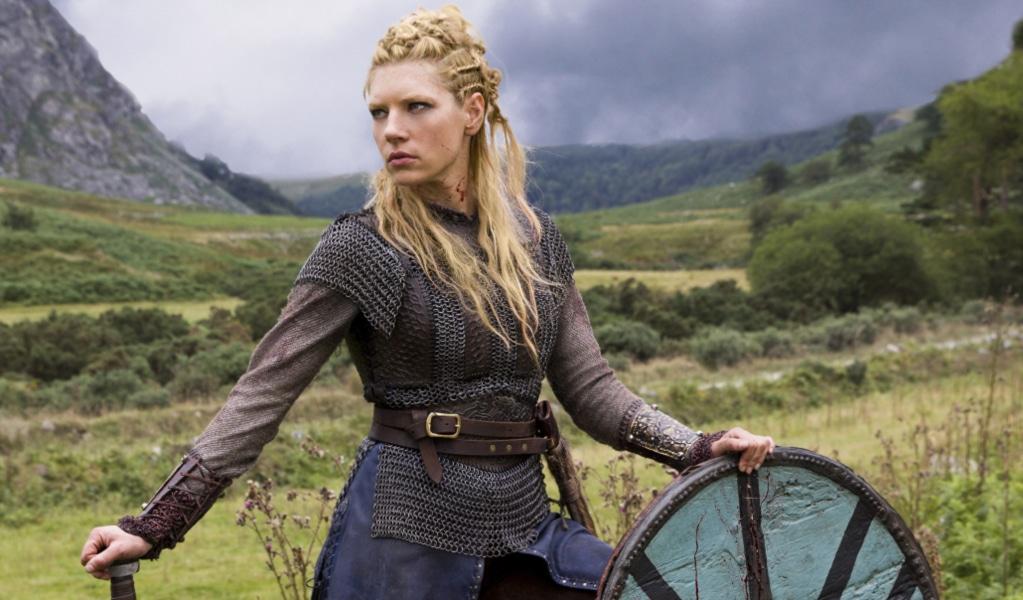 Kristina, princesa vikinga de Sevilla y Eva Sannum del siglo XIII