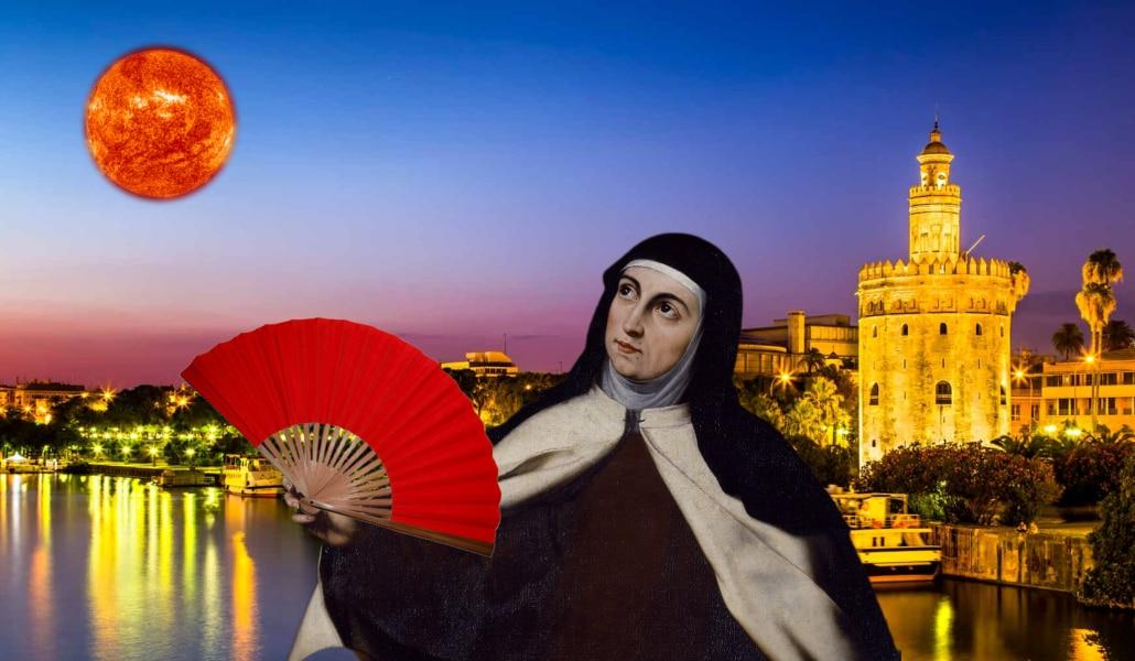 El infierno que Santa Teresa vivió en Sevilla