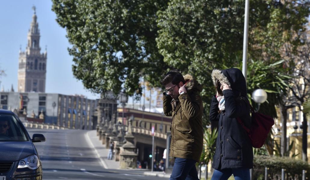 Una ola de frío polar llegará a Sevilla este fin de semana