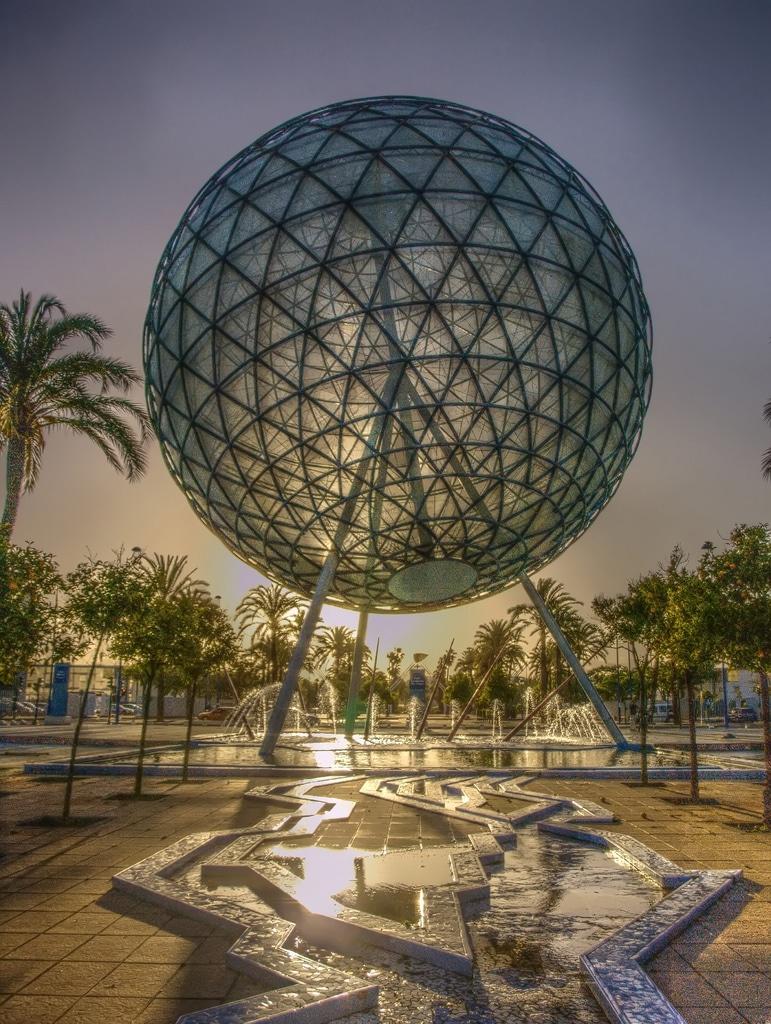 Esfera bioclimática de la Expo 92, Sevilla