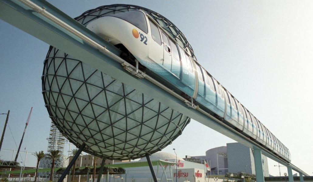 La esfera bioclimática: de símbolo de la Expo 92 al olvido