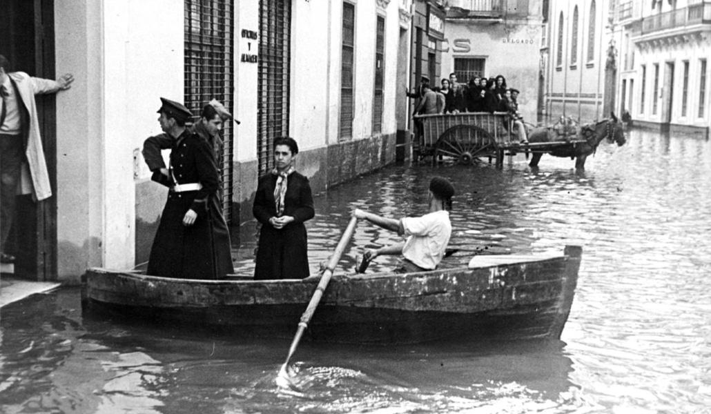 Así fue la última inundación que vivió Sevilla
