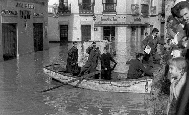 Sevilla inundacion