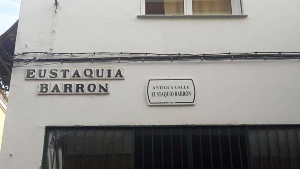 El error de décadas en la calle Eustaquia Barrón