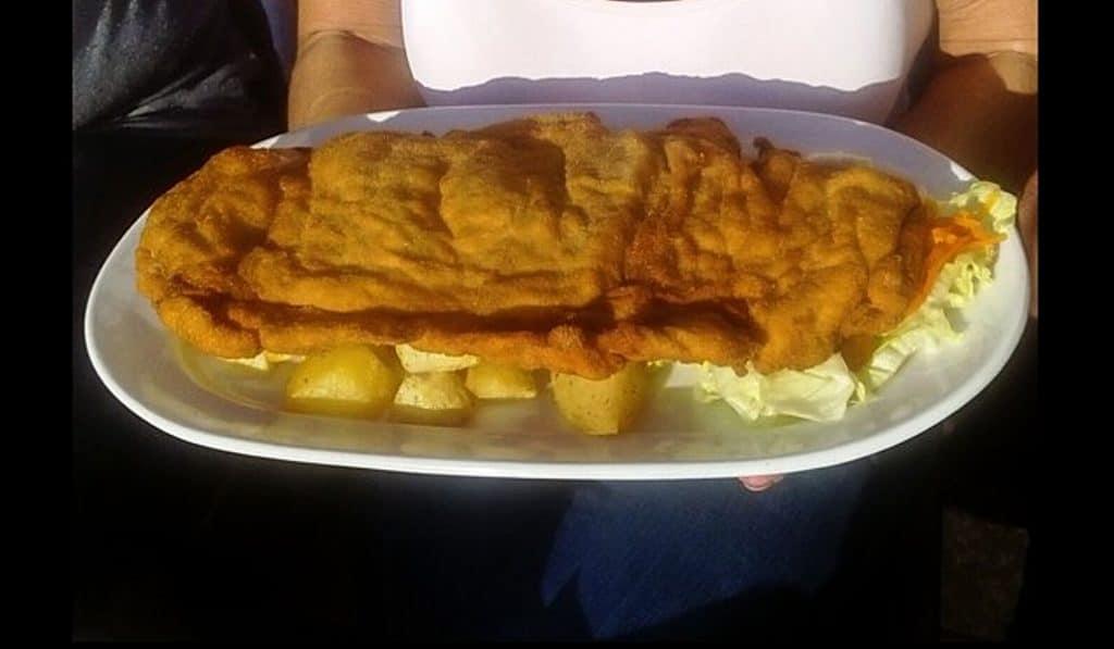 Los San jacobos gigantes que podrás comerte en el Cachopo Fest