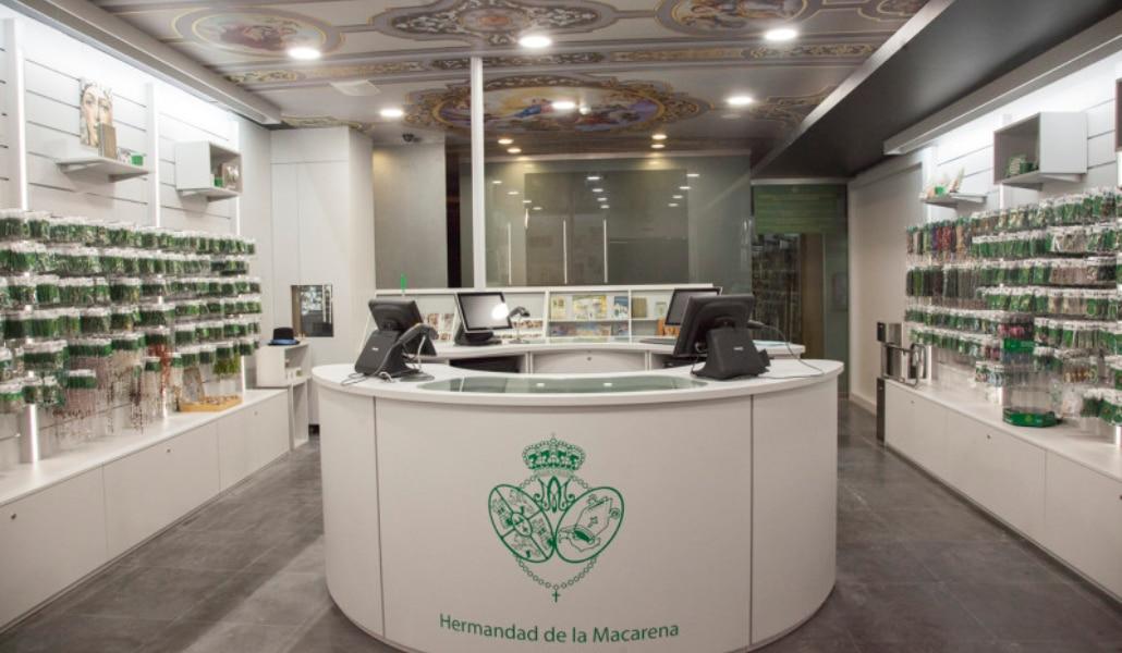 La Macarena tendrá su primera tienda en el centro de Sevilla