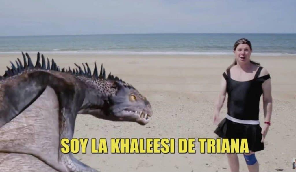 'Los Morancos' parodian a Isabel Pantoja en Supervivientes: la Khaleesi de Triana