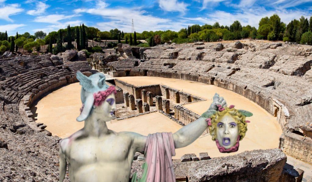 Un teatro en Itálica resucita a Agripina, la única emperatriz de Roma