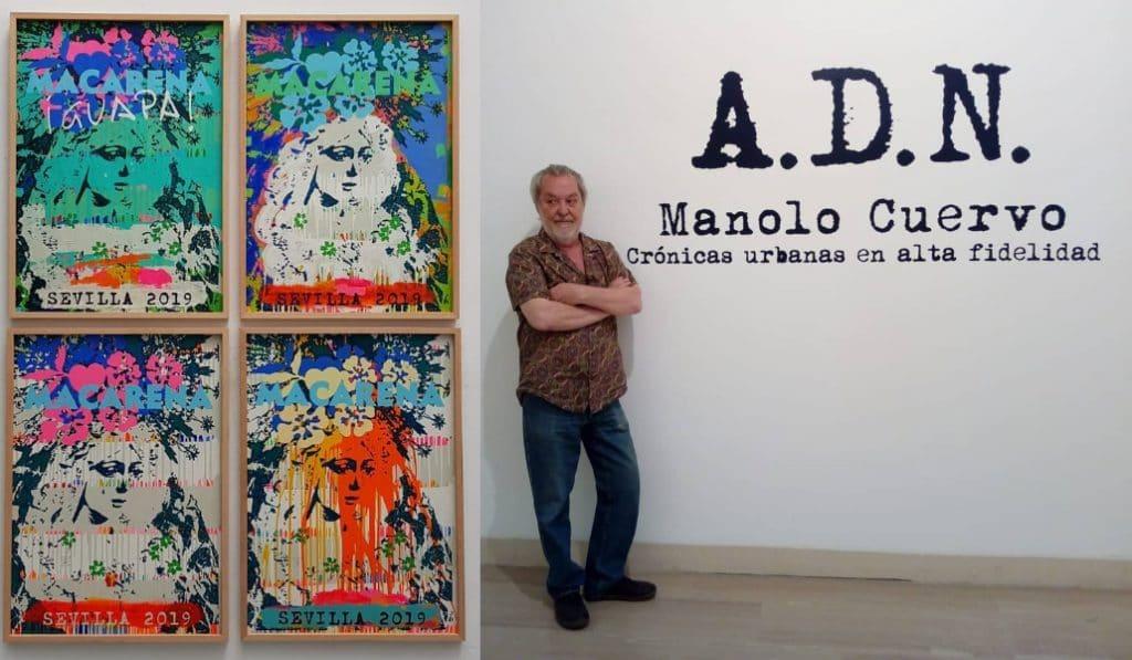 El Andy Warhol español expone en Sevilla su Macarena pop