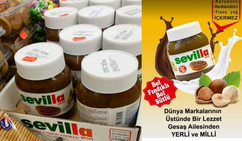 La nutella en Turquía se llama Sevilla