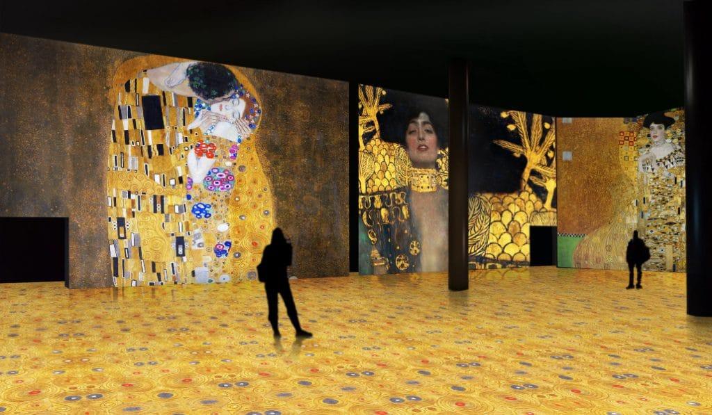 La magia de Gustav Klimt llega a Sevilla con una experiencia artística e inmersiva