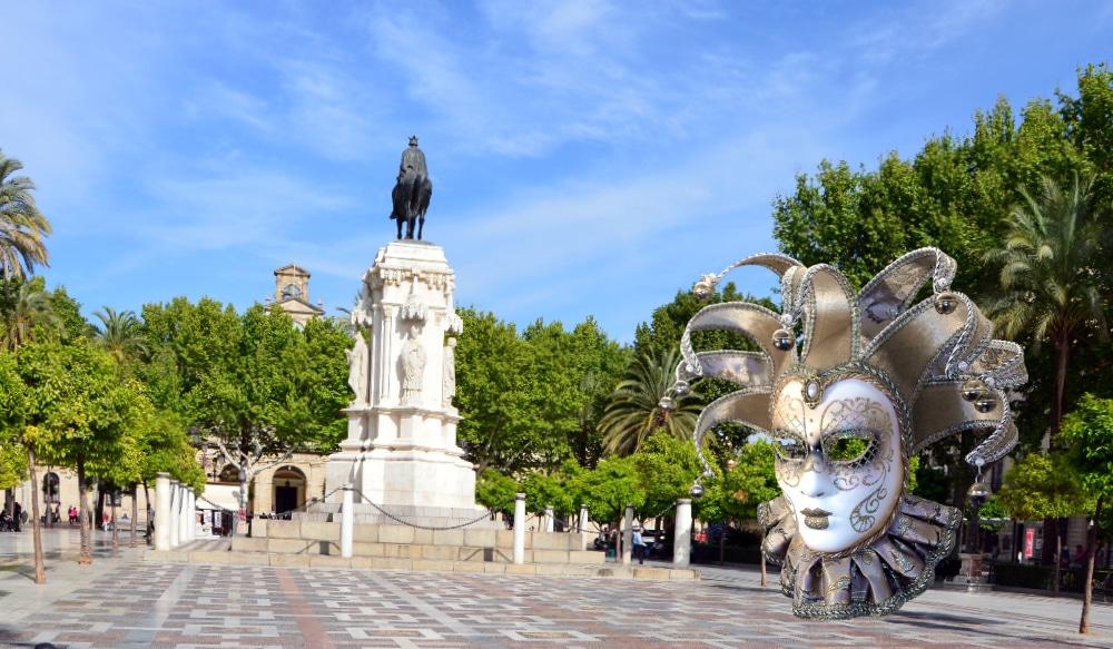Aterriza en Sevilla el Carnaval de Venecia solidario contra la leucemia