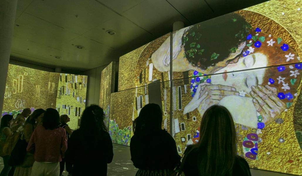 'El Oro de Klimt' recibe más de 50.000 visitantes y se prolonga hasta el 4 de enero