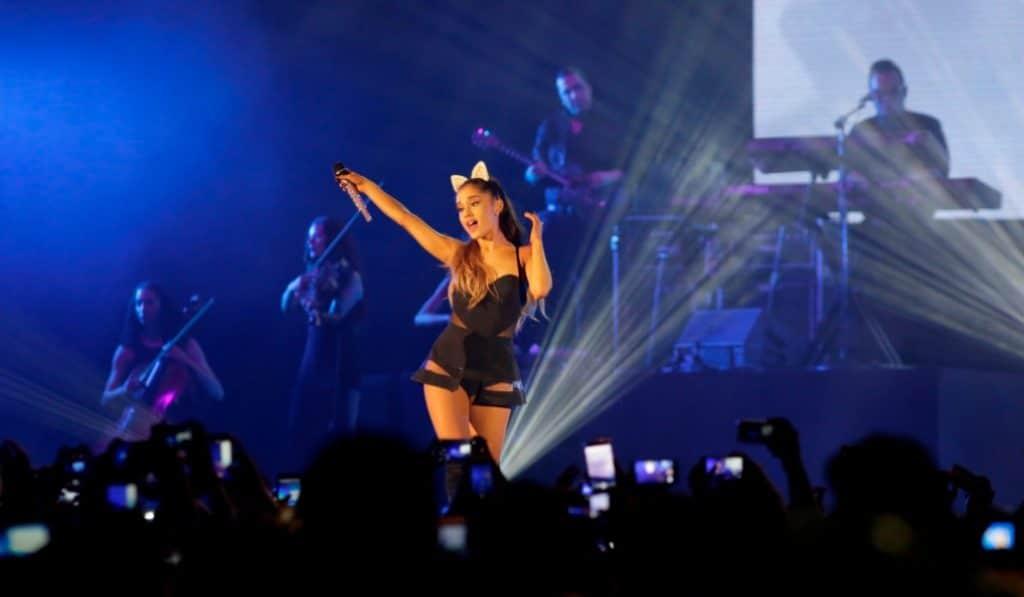 Ariana Grande, la artista más nominada a los Premios MTV de Sevilla