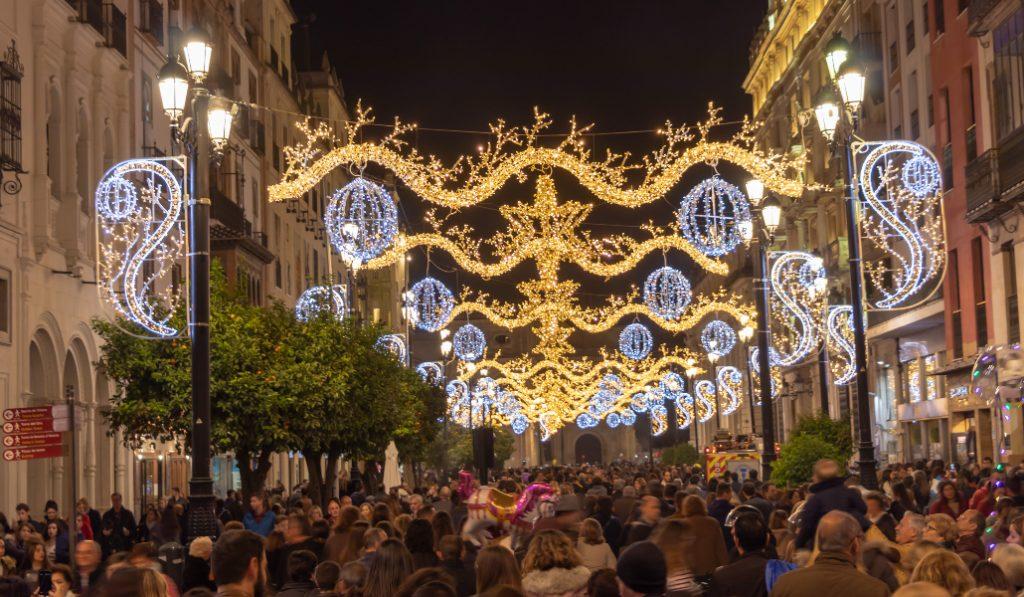 Sevilla es la segunda ciudad española más popular de la Navidad