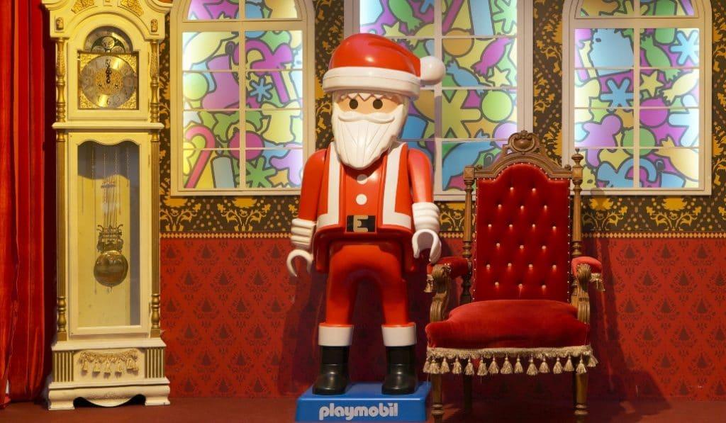 La Fundación Valentín de Madariaga se llena de «clicks» de Playmobil sobre la Navidad