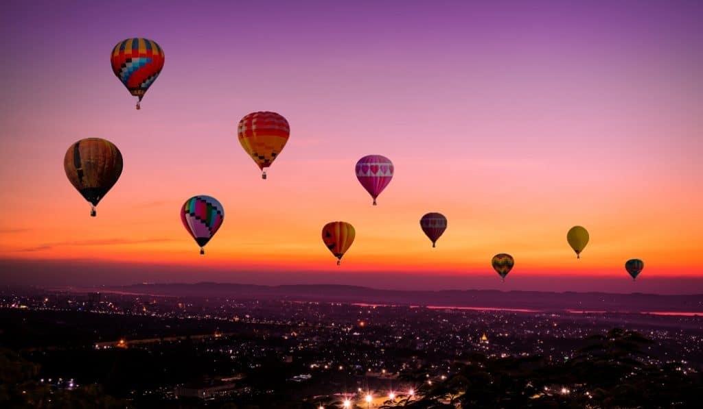 Sevilla albergará una importante competición de globos aerostáticos