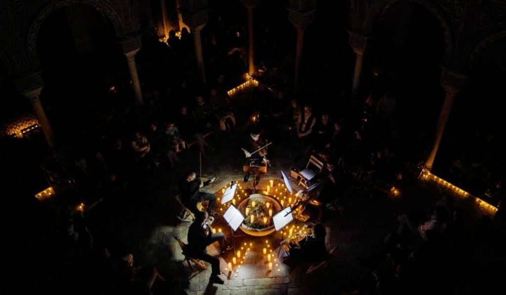 Emociónate con el adagio de Albinoni a la luz de las velas