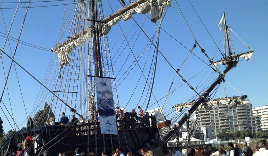 La Nao Victoria 500 será un museo flotante junto a la Torre del Oro