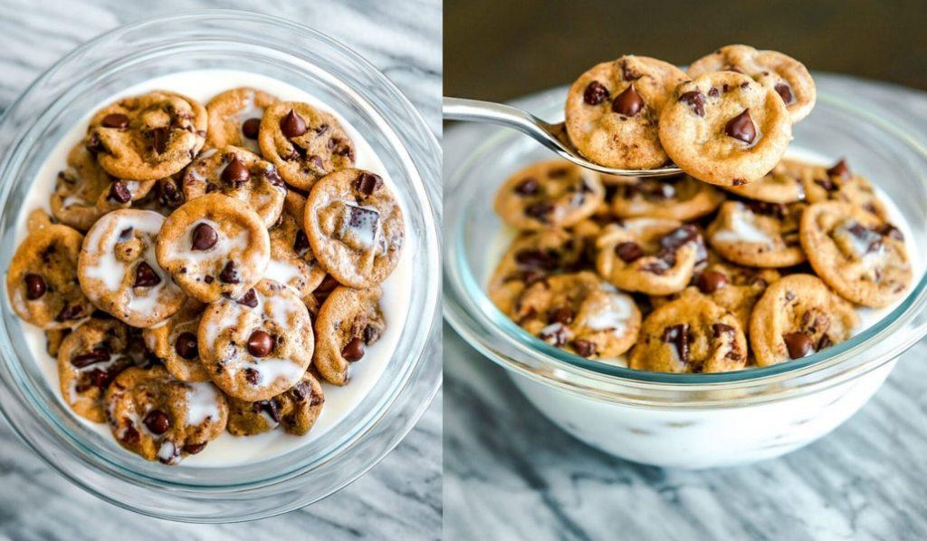 Cereales en forma de minigalletas: la última tendencia gastronómica en redes