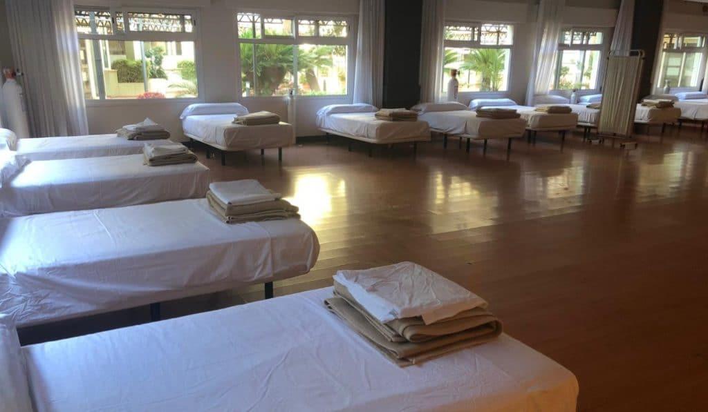 El hotel Alcora cierra sus puertas tras dar el alta a los últimos pacientes con Covid-19