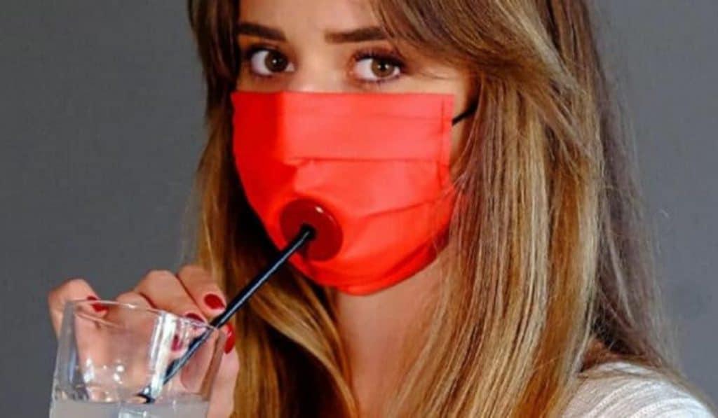 Drinksafe: ahora puedes beber sin quitarte la mascarilla