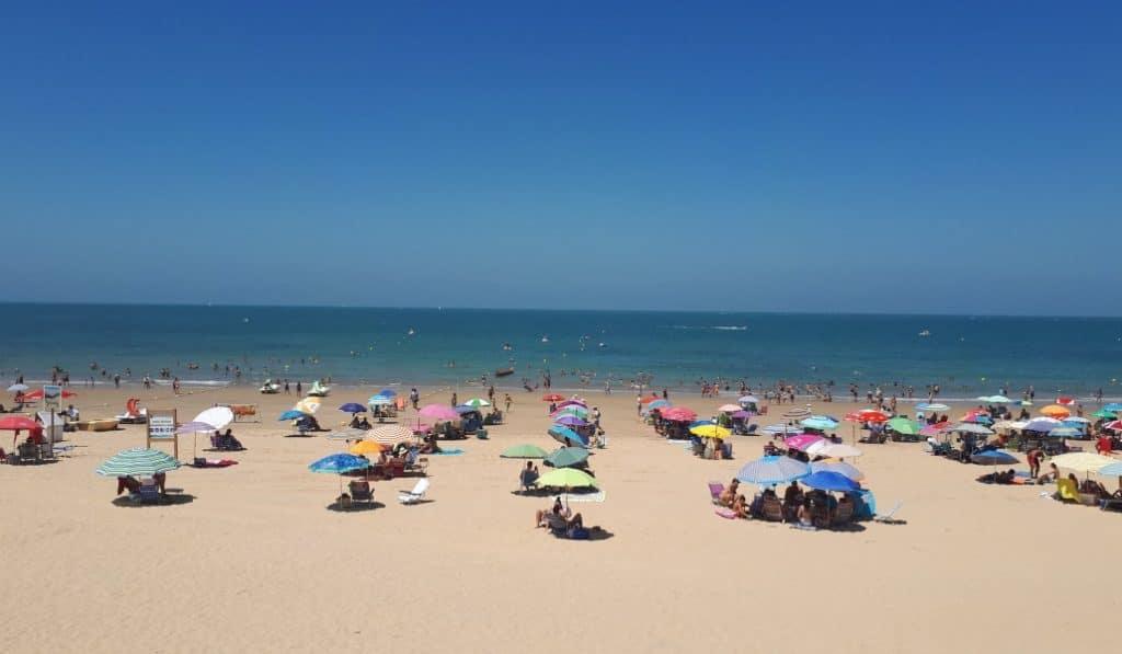 La playa de Chipiona, un ejemplo para Reino Unido