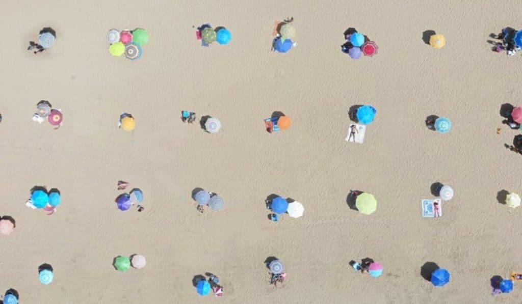 La playa de Punta Umbría, el modelo de seguridad que ha dado la vuelta al mundo