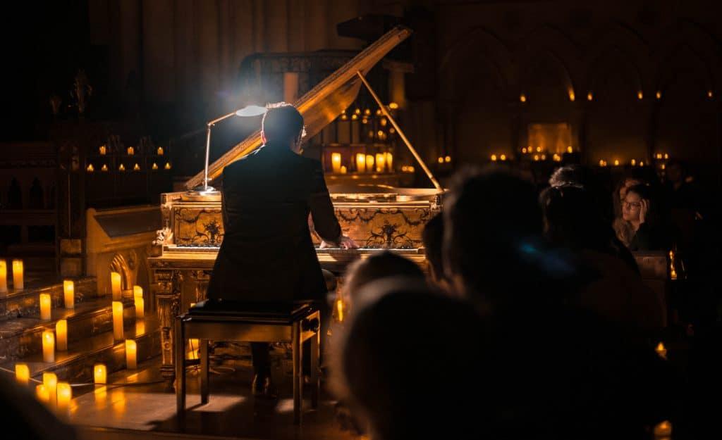 Los mejores conciertos a la luz de las velas suenan en la Fundación Tres Culturas