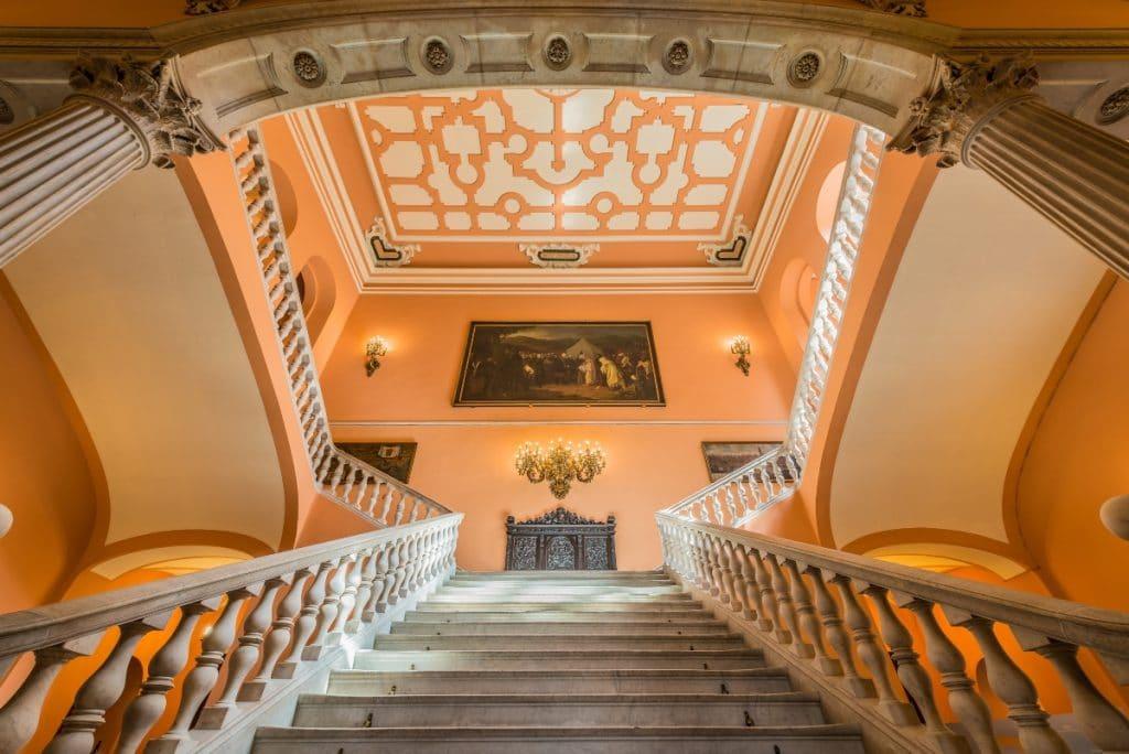 Escaleras de Sevilla que son auténticas obras de arte