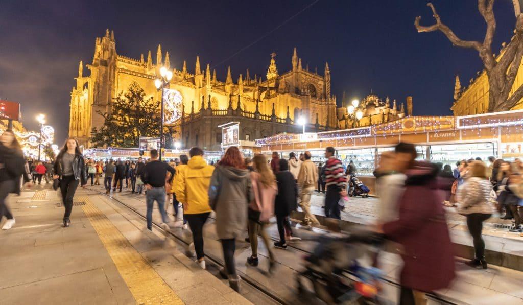 Suspenden la tradicional Feria del Belén de Sevilla