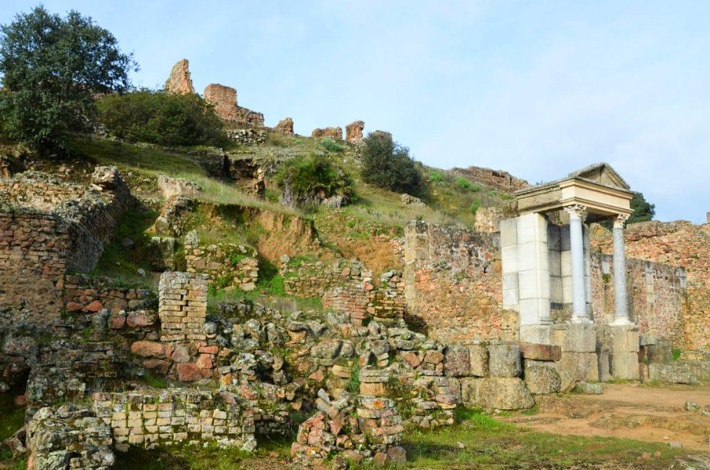 Munigua, la antigua ciudad romana de la provincia de Sevilla