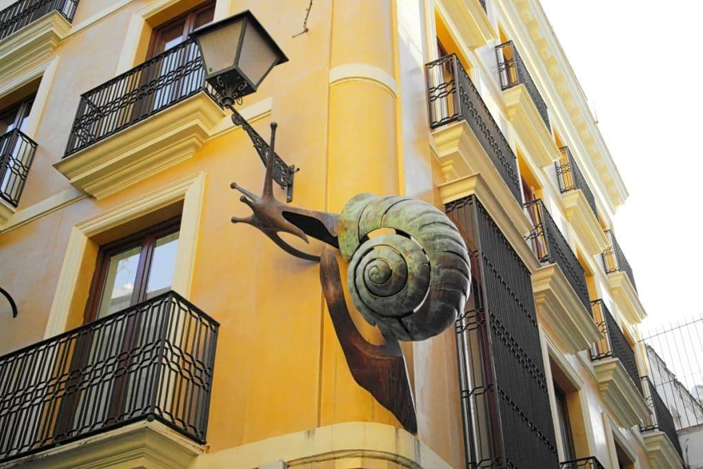 Obras de arte animalista en las calles de Sevilla