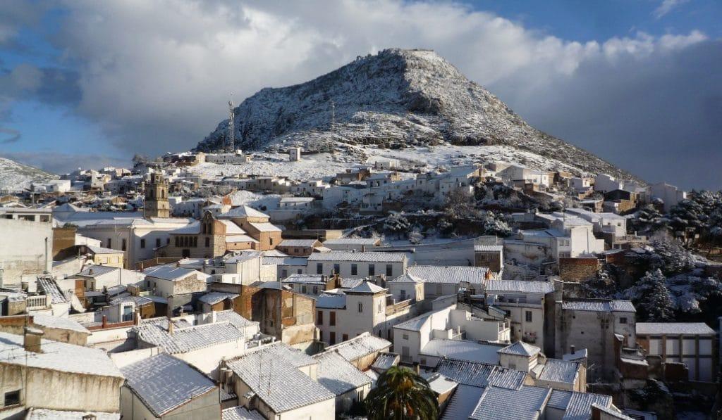 Andalucía en Alerta Naranja: ¿en qué pueblos de la Sierra Norte nevará?