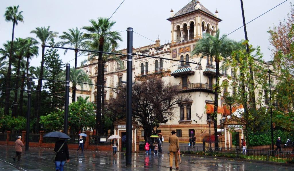 Gaetán, el sucesor de Filomena llega a Sevilla este miércoles