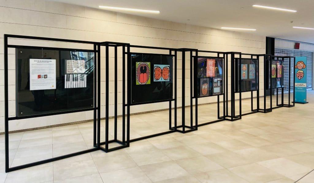 Fnac Torre Sevilla acoge una exposición del ilustrador francés Jean Jullien