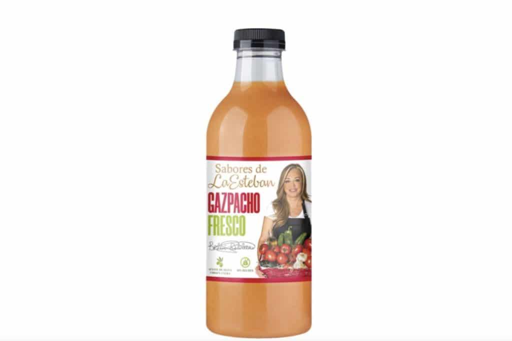 El gazpacho y el salmorejo de Belén Esteban arrasan en los supermercados