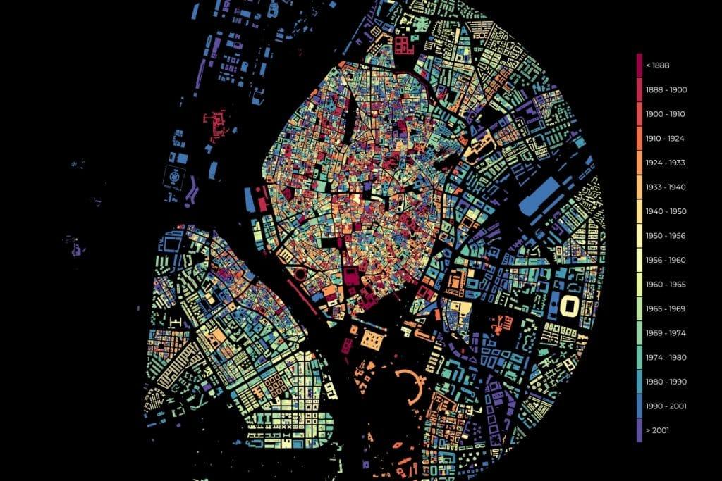 El increíble mapa que refleja el crecimiento urbano de Sevilla